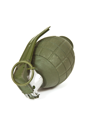 munition: Realistic looking hand grenade made of plastic
