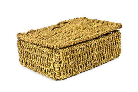 natural materials: Woven from natural materials box for home use