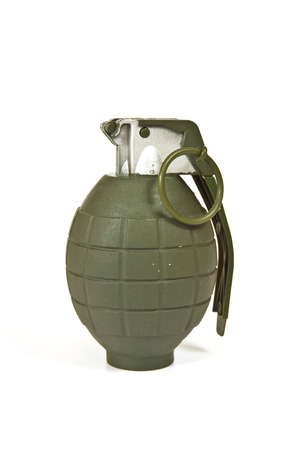 frag: Realistic looking hand grenade made of plastic