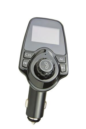 Car FM Transmitter mit USB-Eingang Standard-Bild - 89373545