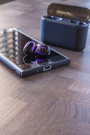 Smartphone Earphones   in black color