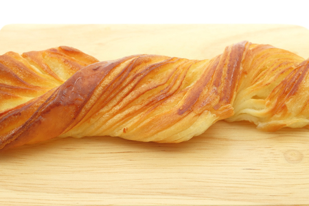 twist: Long Twist Honey Danish Pastry