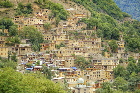 Masuleh Vilage, Gilan, Iran Stock Photo