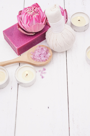 salt flat: Pink Lotus Spa in Purple Concept