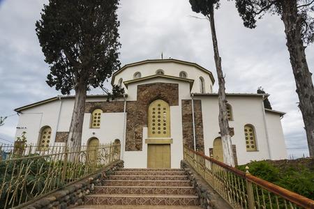 sukhumi: the Church in the village of Dranda, Abkhazia