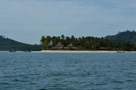 beach front: beach front resort in Thailand Stock Photo