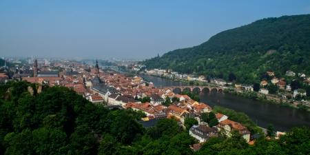 Heidelberg skyline photo