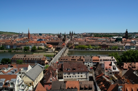 wurzburg skyline Stock Photo - 14292873