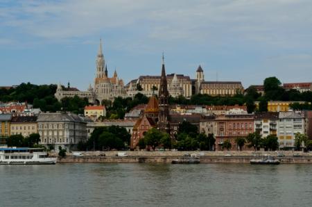 St  Matthias church in Budapest photo