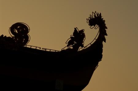 tran: Tran Quoc Pagoda in Hanoi at dawn