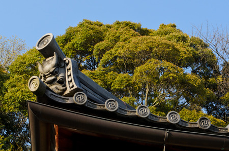 japanese temple: roof of Japanese temple