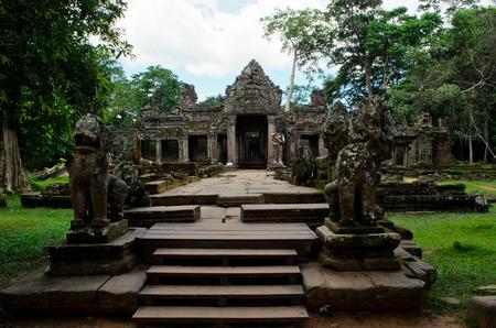 khan: Preah Khan Temple in Angkor Wat