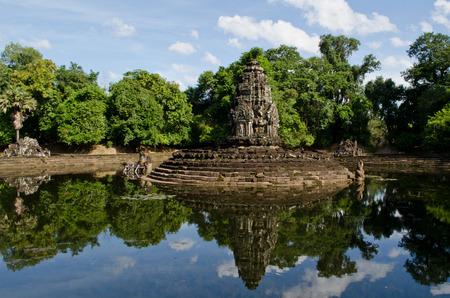 angkor thom: Neak Pean at Angkor Thom