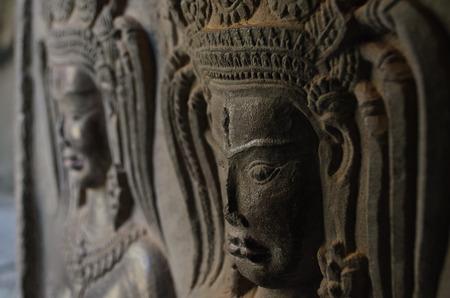 apsara: Apsara Sculpture at Angkor Wat