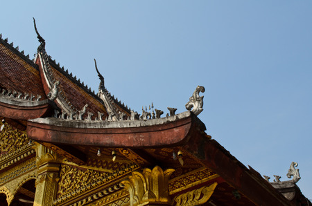 lao: temple bouddhiste � Luang Prabang Lao