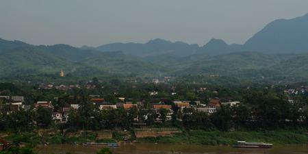 lao: Laung Prabang cityscape Lao