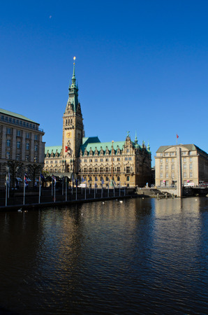 hamburg: Hamburg Rathaus