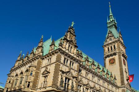 rathaus: Hamburg Rathaus