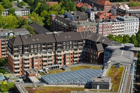 hamburg: buildings in Hamburg Germany Stock Photo