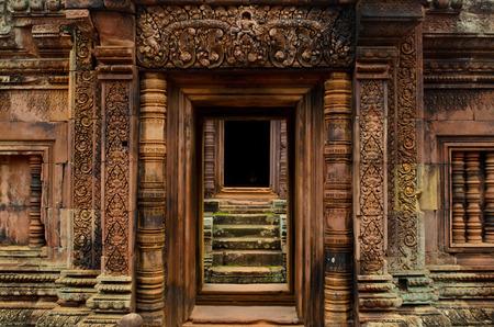 Banteay Srei Standard-Bild - 44010095