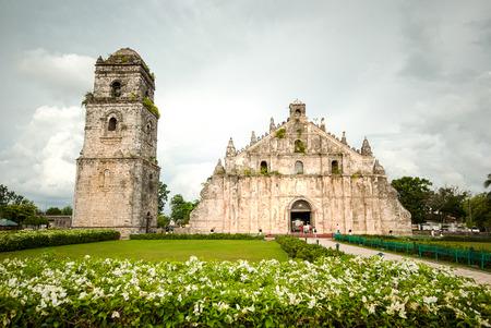 Paoay Church Ilocos Norte Philippines.