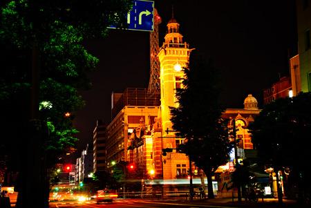 urbanscape: Cityscape of Yokohama, Japan. Editorial