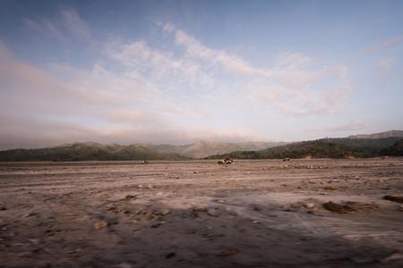 mt: Mt. Pinatubo scenery
