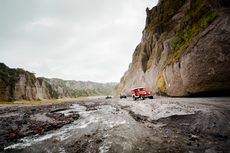 Mt. Pinatubo terrain