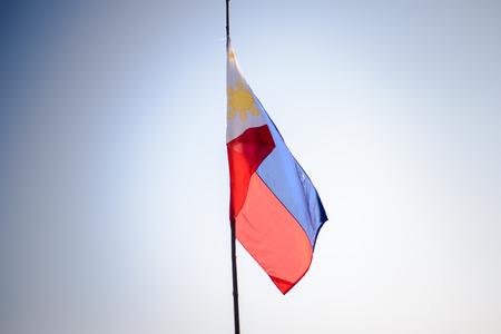 philippine: The Philippine national flag.