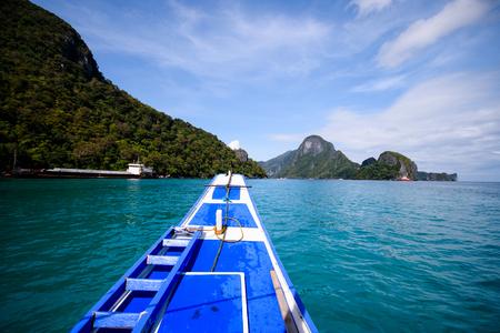 nido: Heading for an island adventure El Nido, Palawan.
