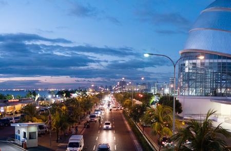 Afterdark at Sunset Boulevard. Philippines.