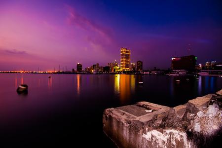 Harbor Square, Manila Bay, Philippines.