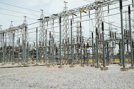 switchgear: High voltage switchgear in substation