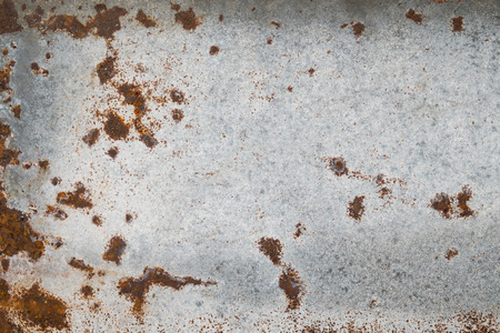 rusted: old metal iron rust background and texture