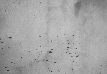 squalid: old grungy texture, grey concrete wall. Copy space Stock Photo