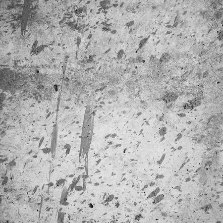 unkept: old grungy texture, grey concrete wall. Copy space Stock Photo