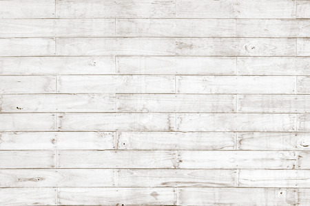 White wooden planks pattern texture as natural background