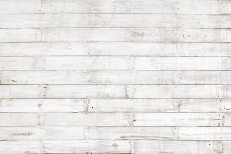 Blanc motif de planches en bois texture de fond naturel