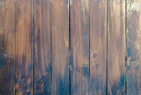 brown wood: Vintage Brown wood plank wall texture background