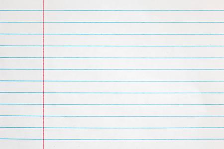 looseleaf: Notebook paper background