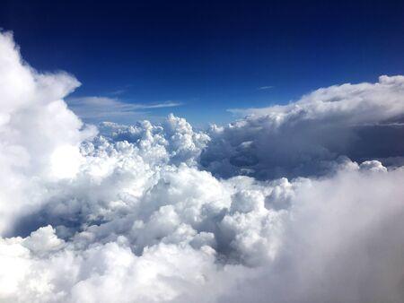 Clouds aerial shot