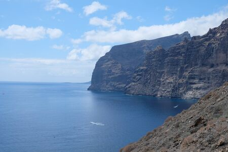 The Giants cliffs from Tenerife, Canary Islands (SPAIN)
