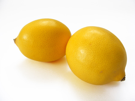 copy space image of lemon Stock Photo