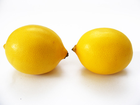 two faced: He faced two lemons ...