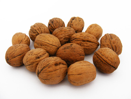 the walnut pictures energized nuts Stock Photo