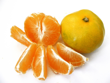 whole and sliced ??tangerine pictures