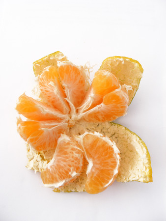 separated from the shell tangerine pictures