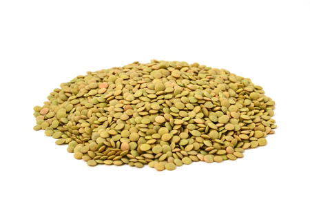 white background lentils pictures