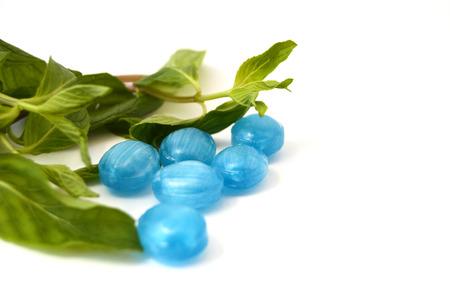 menthol: menthol mint-flavored candies