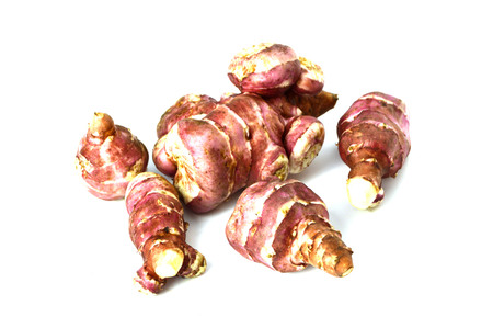 helianthus: sweet potato Jerusalem Stock Photo